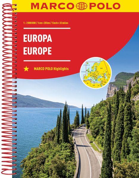 Europa Straßenatlas, 1:2.000.000, Marco Polo