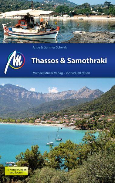 Thássos & Samothráki Reiseführer, Michael Müller