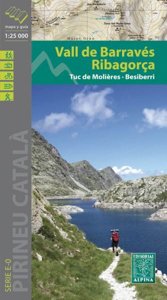 Vall de Barravés - Ribagorca Wanderkarte 1:25.000 - Editorial Alpina