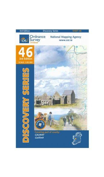 OSI 46 Galway Wanderkarte 1:50.000 - Ordnance Survey Ireland