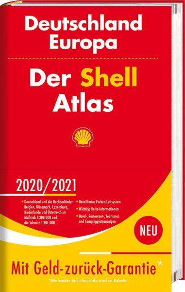 Der Shell Atlas Deutschland Europa, 1:300.000/1:750.000, Shell