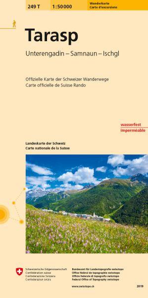 249 T Tarasp Wanderkarte 1:50.000 - Swisstopo