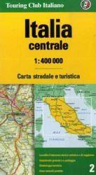 Italien Mitte Straßenkarte, TCI, 1:400.000
