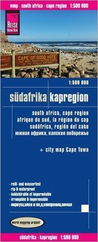 Südafrika Kapregion Straßenkarte 1:500.000, Reise know-How