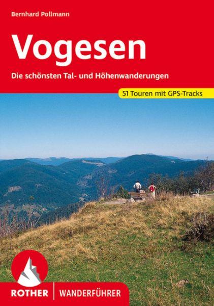 Vogesen Wanderführer, Rother