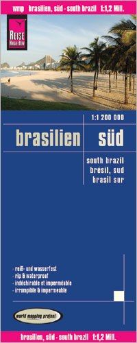 Brasilien Süd Landkarte 1:1.200.000, Reise Know-How