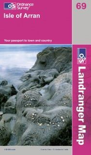 Landranger 69 Isle of Arran Wanderkarte 1:50.000 - OS / Ordnance Survey