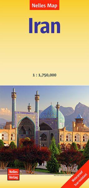 Nelles Maps, Iran Landkarte 1:1.750.000 wasser- und reissfest