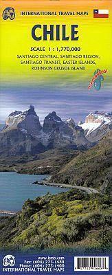 Chile Landkarte 1:1.750.000, ITM