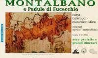 Montalbano e Padule di Fucecchio, Wanderkarte 1:25.000