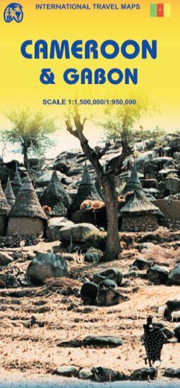 Kamerun 1:1.500.000 & Gabun 1:950.000, ITM