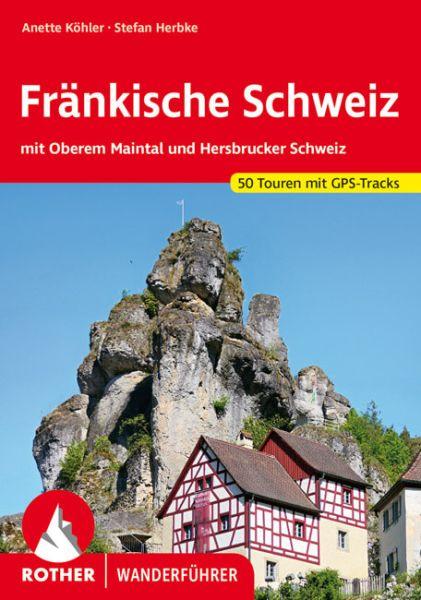 Fränkische Schweiz Wanderführer, Rother