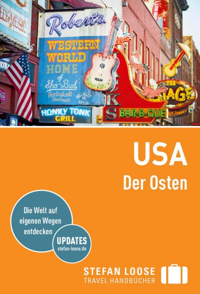 USA, Der Osten, Reiseführer, Stefan Loose