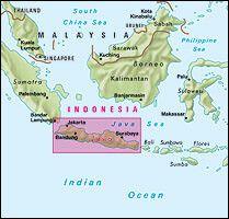 Nelles Maps, Indonesien: Java, Jakarta Straßenkarte 1:750.000/1:22.500