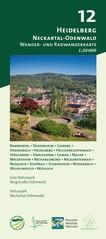Heidelberg & Neckartal-Odenwald Wanderkarte 1:20.000 - Odenwald 12
