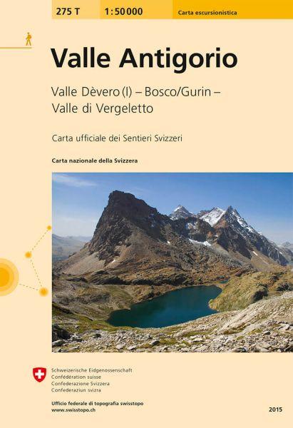 275 T Valle Antigorio Wanderkarte 1:50.000 - Swisstopo