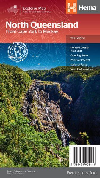 HEMA Regional Map North Queensland 1:1.750.000