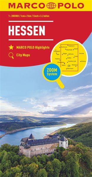 Hessen Straßenkarte 1:200.000, Marco Polo Bl. 06