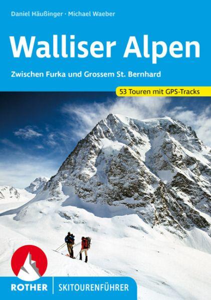 Walliser Alpen Rother Skitourenführer