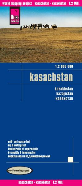 Kasachstan Landkarte 1:2.000.000, Reise Know-How