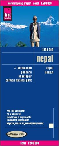 Nepal Landkarte 1:500.000, Reise Know-How