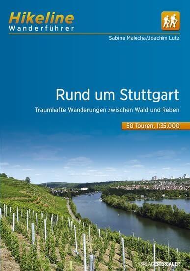 Rund um Stuttgart, Hikeline Wanderführer mit Karten, Esterbauer
