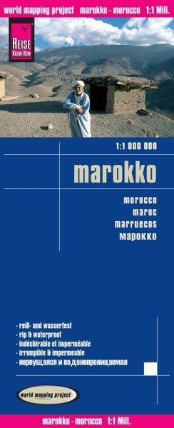 Marokko Landkarte 1:1.000.000, Reise Know-How