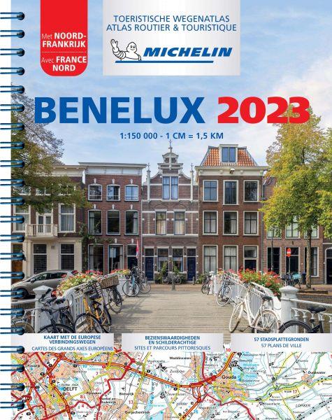 Belgien, Niederlande, Luxemburg Straßenatlas, 1:150.000, Michelin