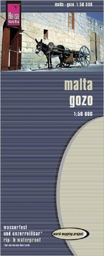 Malta und Gozo Landkarte 1:50.000, Reise Know-How