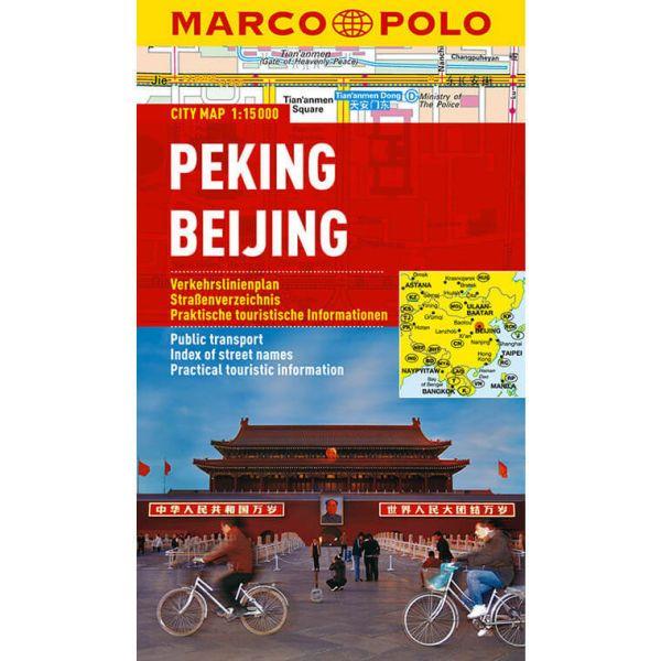 Peking / Beijing Stadtplan 1:15.000 - Marco Polo