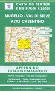 Edition Multigraphic 30, Mugello - Val di Sieve; Toskana - Emilia Romagna, 1:25.000