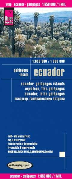 Ecuador, Galápagos Landkarte 1:650.000 / 1.000.000, Reise Know-How