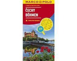 Böhmen Straßenkarte 1:200.000 Marco Polo