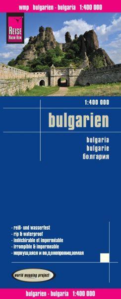 Bulgarien Landkarte 1:400.000, Reise Know-How