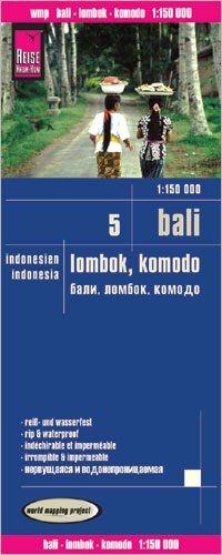 Bali, Lombok, Komodo Landkarte 1:150.000, Reise Know-How