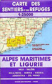 Edition Multigraphic 113/114, Alpi Marittime e Liguri, Ligurien, 1:25.000
