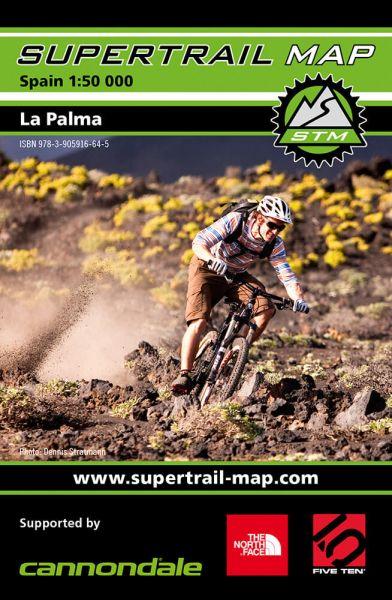 Supertrail Map La Palma Mountainbike-Karte, 1:50.000, Wasser- und reissfest (STM)