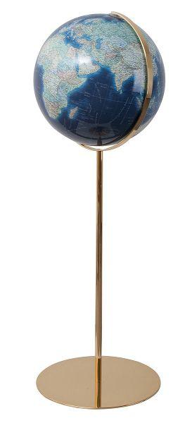 Columbus Regent Azzurro Ø 40 cm, handkaschierter Standglobus