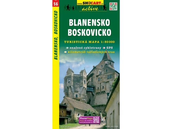Blanensko, Boskovice Wanderkarte 1:50.000 - SHOCart 056