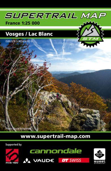 Supertrail Map Vosges / Lac Blanc Mountainbike-Karte 1:25.000, Wetterfest