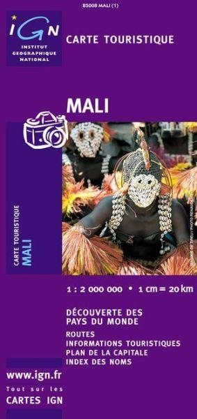 Mali Straßenkarte 1:2.000.000, IGN