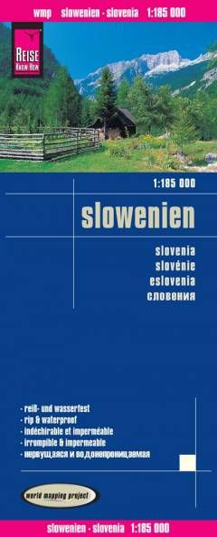 Slowenien Landkarte 1:185.000, Reise Know-How