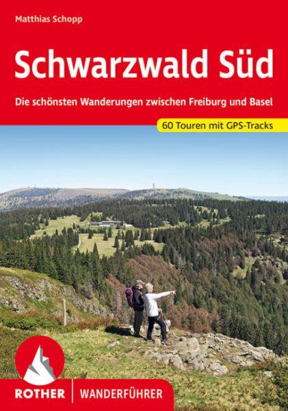Schwarzwald Süd Wanderführer, Rother