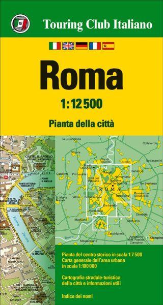 TCI Rom, Roma Stadtplan (Touring Club Italiano) 1:12.500