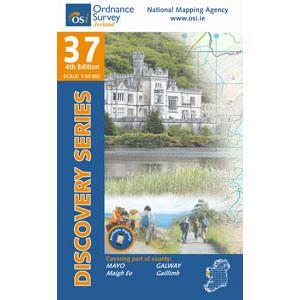 OSI 37 Mayo (SW), Galway, Wanderkarte, Ordnance Survey Ireland