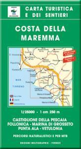 Edition Multigraphic 529, Costa della Maremma Wanderkarte; 1:25.000