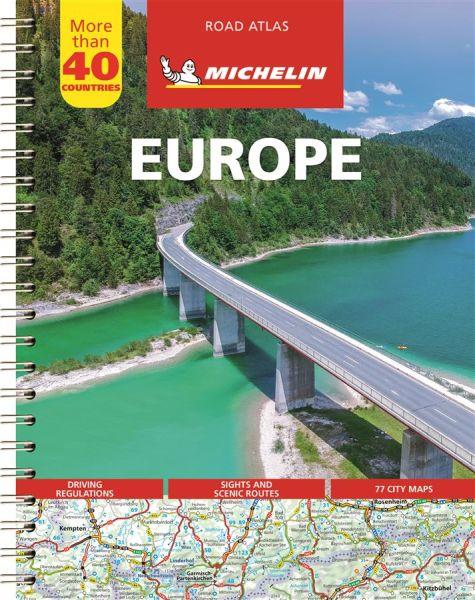 Europa Straßenatlas, 1:500.000 bis 1:3.000.000, Michelin