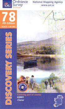 OSI 78 Kerry Wanderkarte 1:50.000 - Ordnance Survey Ireland
