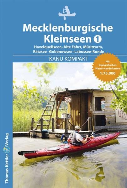 Kanu Kompakt Mecklenburgische Kleinseen 1, Kanuführer, Thomas Kettler Verlag