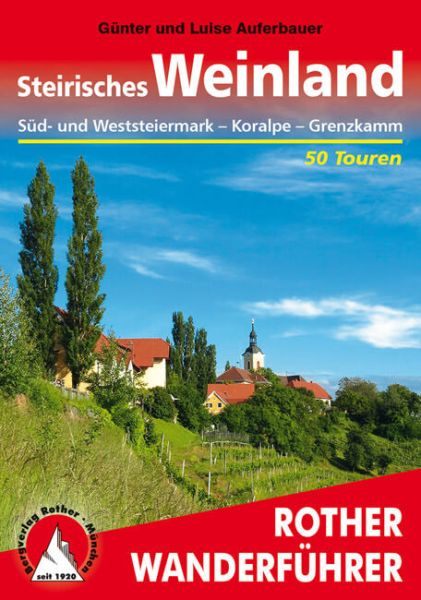 Steirisches Weinland Wanderführer, Rother